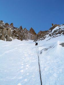 Pointe de Gidord (3531 m) - NE Couloir